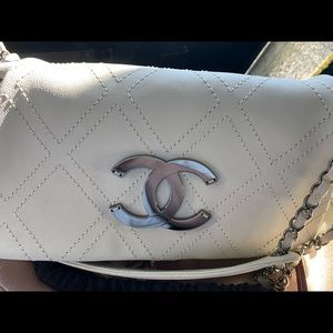 Authentic Chanel chain bag & Gold wallet combo